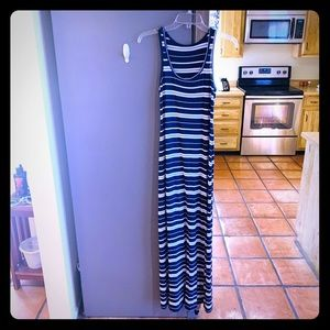 GAP Maxi Dress striped maxi
